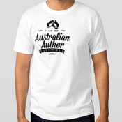 Australian Author - t-shirt (MENS) - Men's Hanes Surf Classic White T-Shirt