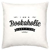 Bookaholic - pillow