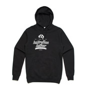 Australian Author - hoodie - Men's Stencil Boutique Hooded Jumper by 'As Colour'