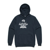 Australian Author - hoodie - Men's Stencil Boutique Hooded Jumper by 'As Colour' 2